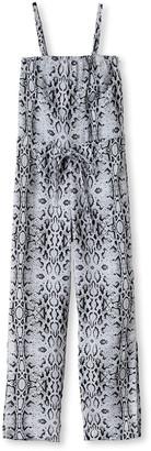 Stella Cove Snake-Print Jumpsuit Coverup, Size 2-14