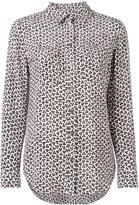 Equipment leopard print shirt - women - Silk - M
