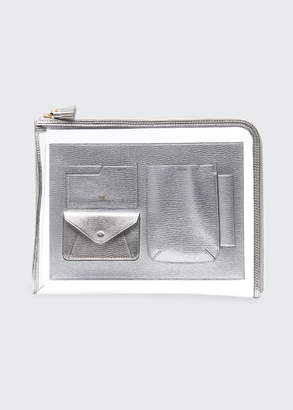 Anya Hindmarch Metallic Envelope Folio Case