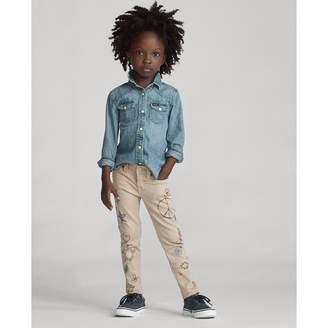 Ralph Lauren Tompkins Skinny Doodle Jean