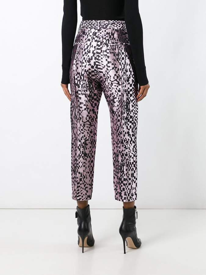 Haider Ackermann 'Madeline' cropped trousers