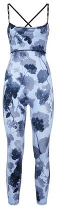 Fendi Light Blue Tech-Fabric Jumpsuit