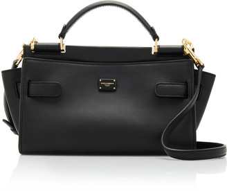 Dolce & Gabbana Sicily Small Soft Leather Top Handle Bag