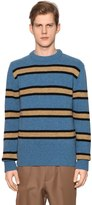 Marni Striped Virgin Wool Knit Sweater