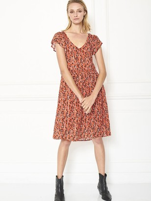 MKT Studio Richti Dress In Vermillion - XS