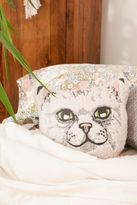 Urban Outfitters Sherpa Cat Pillow