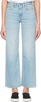 Simon Miller Indigo Wilston Frayed Jeans