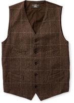 Ralph Lauren RRL Windowpane Wool-Blend Vest