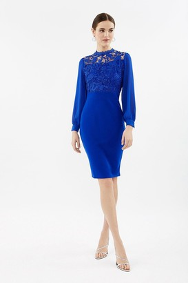 Coast Lace Bodice Midi Dress