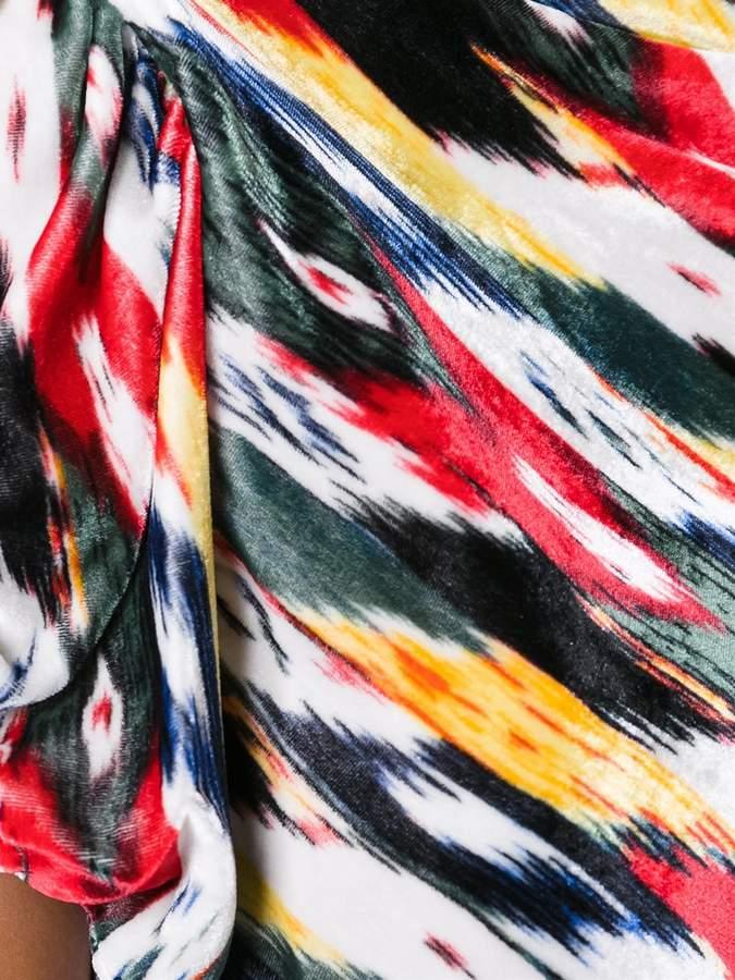 Etoile Isabel Marant 'Link' velvet top