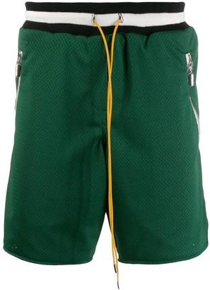 Rhude Mesh Sports Shorts