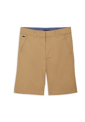 Lacoste Little Boy's & Boy's Chino Bermuda Shorts