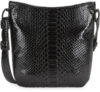 Nancy Gonzalez Phyton Leather Crossbody Bag