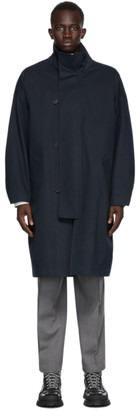 mfpen Navy Johnston Coat