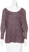 Alice + Olivia Woven Oversize Sweater