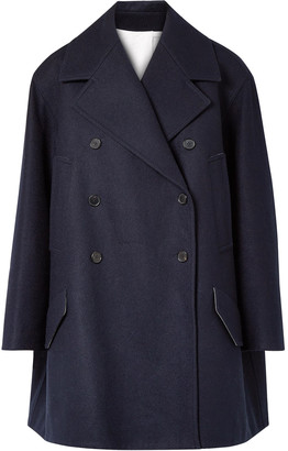 Calvin Klein Double-breasted Oversized Wool-felt Coat