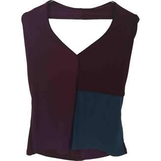 Adolfo Dominguez Purple Top for Women
