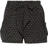 Hatch Stroll Printed Stretch-crepe Shorts - 1