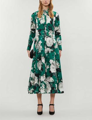 Erdem Josianne floral-print cotton-poplin midi dress