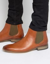 Base London Cheshire Leather Chelsea Boots