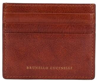 Brunello Cucinelli Leather Card Holder