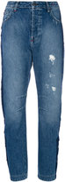 Twin-Set star studded denim jeans - women - Cotton - 25