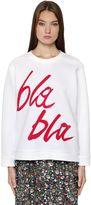 Odeeh Bla Bla Double Face Jersey Sweatshirt