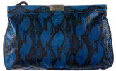 Jimmy Choo Watersnake Zulu Clutch
