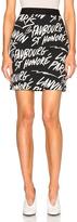 Lanvin Print Skirt