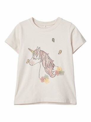 Name It Girl's Nmffully Ss Top T-Shirt