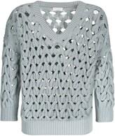 Brunello Cucinelli loose-fit open-knit jumper
