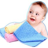 Towels for Baby Towels for Sensitive Skin, Washcloths for Boys, Girls, Newborn and Toddlers, Organic and Healthy (Yellow)