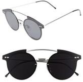 Spitfire Women's Trip Hop 55Mm Sunglasses - Silver/ Black