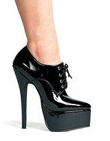 ELLIE Women's 6.5 Inch Stiletto Heel Oxford (;)