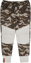 Haus of JR Camouflage French Terry Sweatpants-BROWN