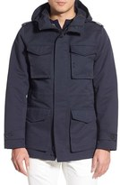 Vince Camuto Men's Hooded Water-Resistant Field Jacket