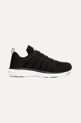 APL Athletic Propulsion Labs Techloom Pro Mesh Sneakers - Black