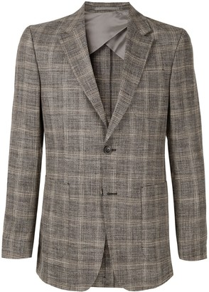 Cerruti Formal Plaid Blazer