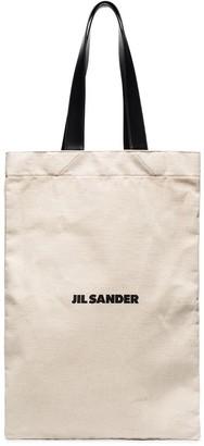 Jil Sander Canvas Tote Bag