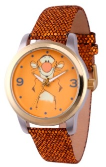 EWatchFactory Disney Pooh Tigger Women's Two Tone Alloy Watch