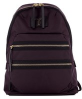 Marc by Marc Jacobs Women's Purple Fabric Backpack.