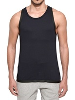 adidas Cotton And Silicon Tape Tank Top