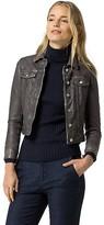 Tommy Hilfiger Leather Trucker Jacket