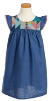 Tea Collection Girl's Goolwa Embroidered Dress