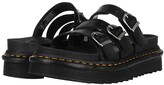 Dr. Martens Blaire Slide (Black) Women's Shoes
