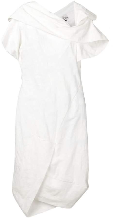 Vivienne Westwood embroidered asymmetric midi dress