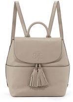 Tory Burch Thea Leather Tassel Backpack
