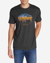 Eddie Bauer Men's Graphic T-Shirt - Buffaloscape