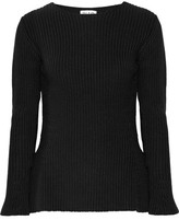 Paul & Joe Ribbed Cotton Sweater - 4