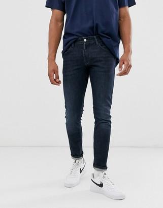 Armani Exchange J14 stretch skinny fit jeans in dark wash